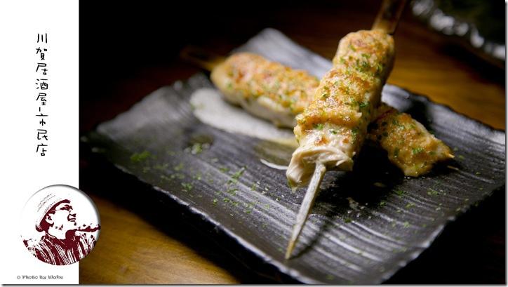 明太子雞肉串-川賀燒烤居酒屋市民店