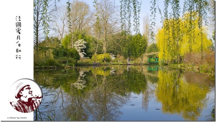 第一次法國蜜月自由行就上手-莫內花園