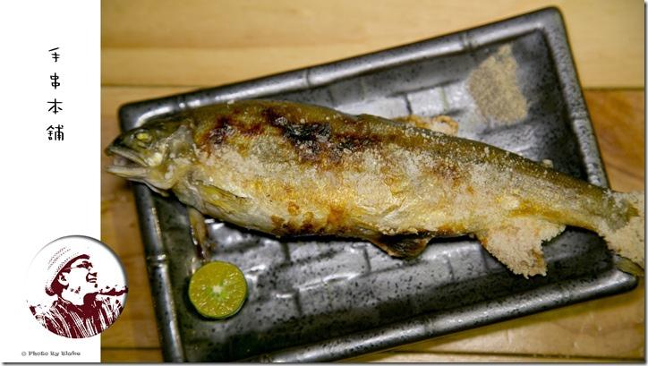 鹽烤香魚-手串本舖.炭火燒鳥.仁愛店