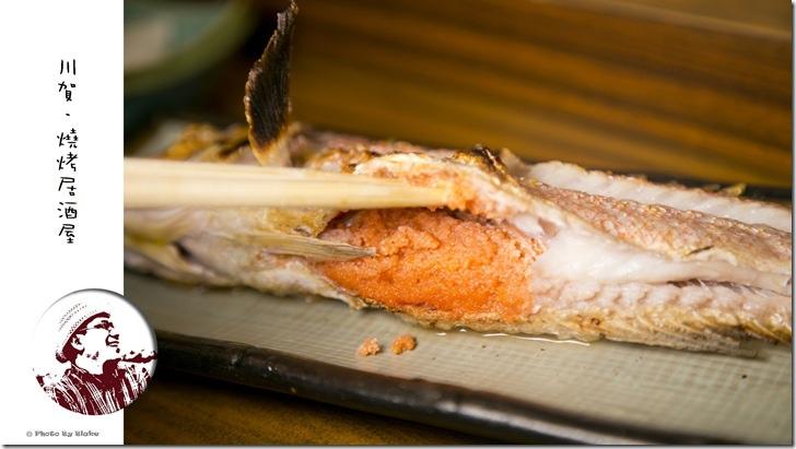 鱈魚子馬頭魚-川賀.燒烤.居酒屋-台北美食-民生東路