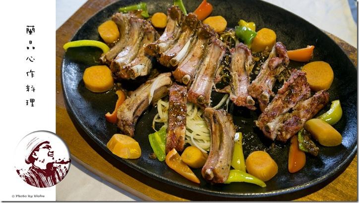 養生紅麴豬肋排-蘭晶心作料理-無菜單創意料理