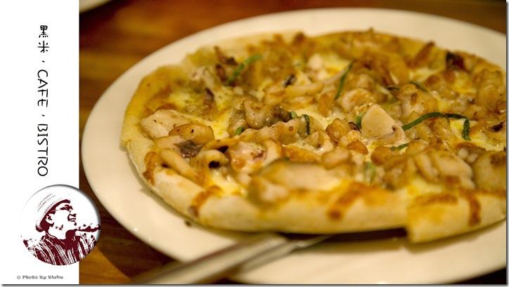海鮮披薩-黑米.CAFE.BISTRO