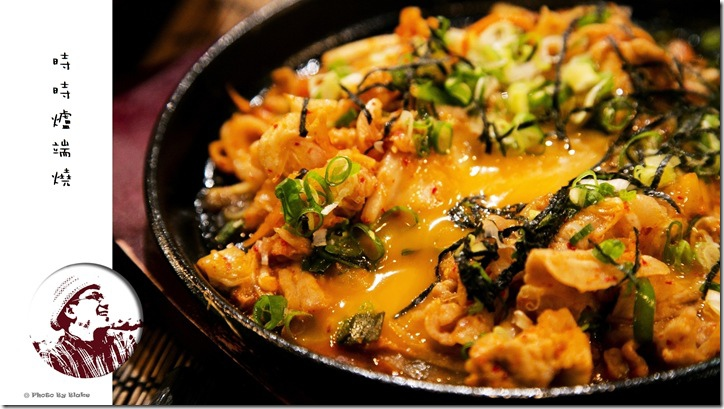 豬肉泡菜鐵板燒-JiJi時時爐端燒