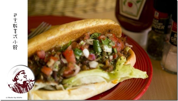 BBQ醬肉熱狗堡-巴克斯美式小館