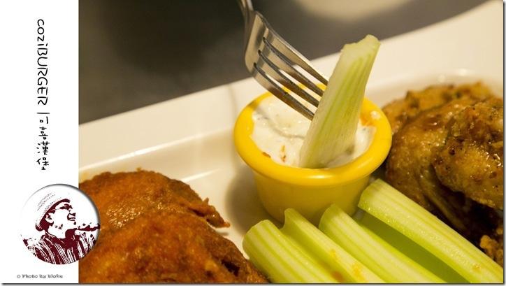 Cozi BURGER 可喜漢堡-雞翅拼盤(水牛城辣雞+蜜汁甜醬)