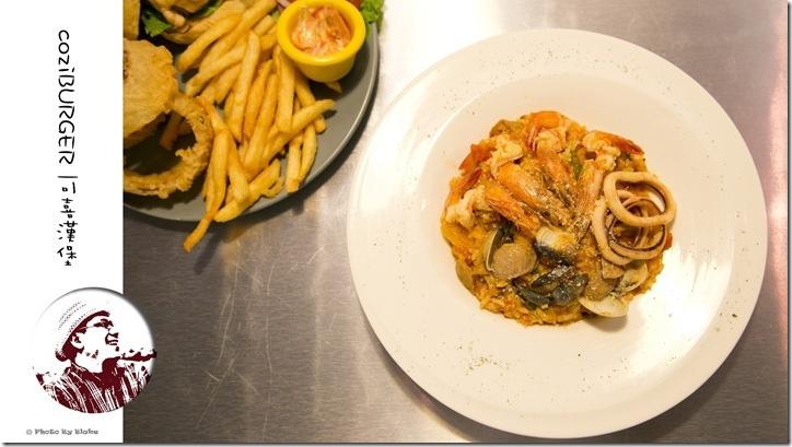 Cozi BURGER 可喜漢堡-路易斯安那鮮蝦香腸辣燉飯