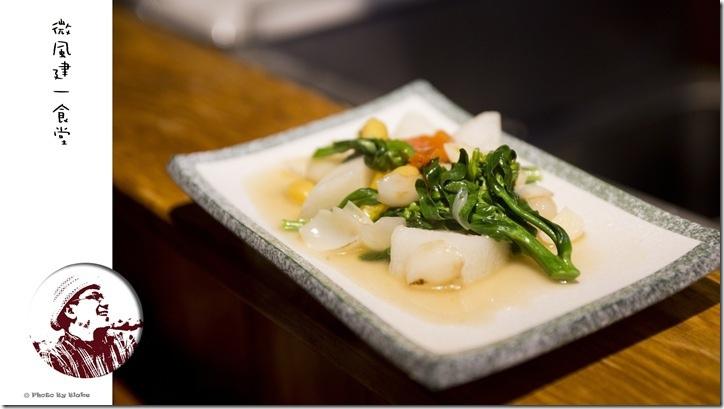 炒食蔬(荸薺、白果、百合、山藥、甜椒、芥藍)-微風建一食堂