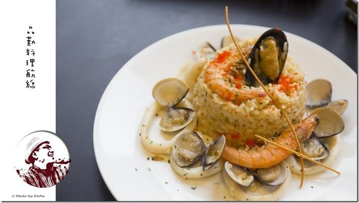 義式海鮮燉飯-桃園美食-品勤料理航線-鐵道餐廳