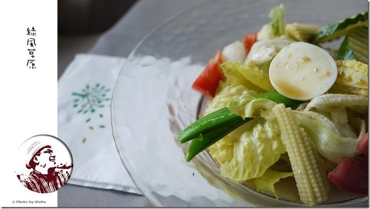 綠風草原-田園沙拉(千島醬)