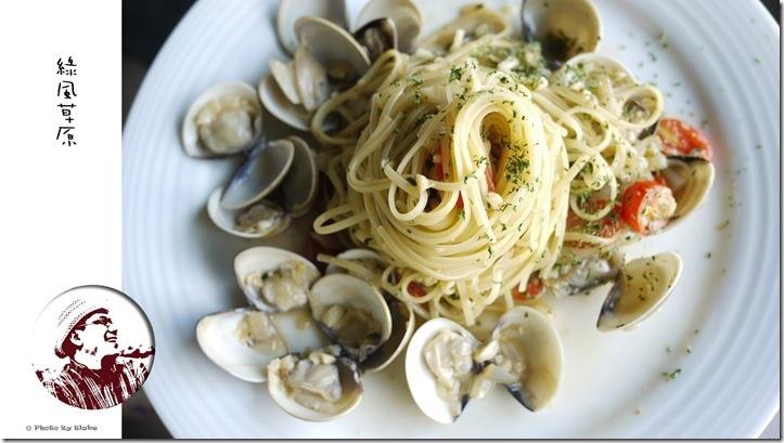 白酒橄欖油蛤蜊義大利麵