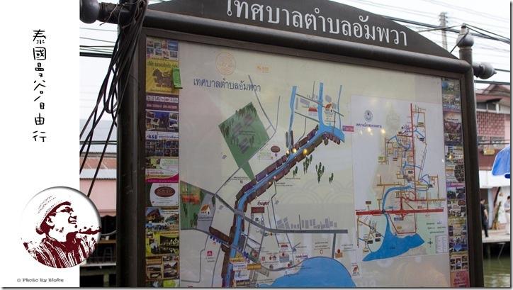 安帕瓦水上市場(Amphawa Floating Market)-泰國自由行