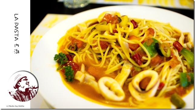 茄汁墨魚橄欖義大利麵-LAPASTA義大利麵屋