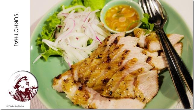喜來登SUKHOTHAI(素可泰)泰式餐廳-碳烤豬頸肉