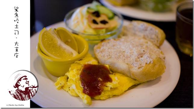 鯊魚咬土司大直店-法式鮪魚早餐