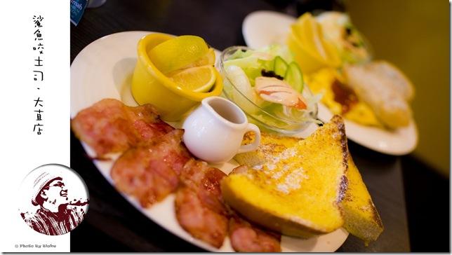 英式組合早餐-鯊魚咬土司大直店
