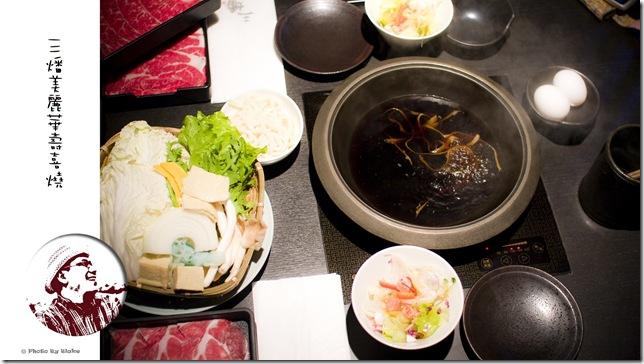 三燔美麗華壽喜燒吃到飽