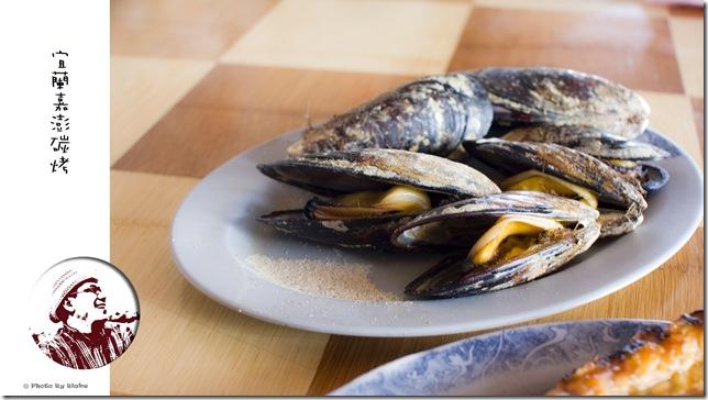 嘉澎碳烤澎湖牡蠣-孔雀蛤淡菜