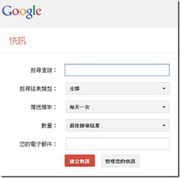 負面新聞監控-Google快訊