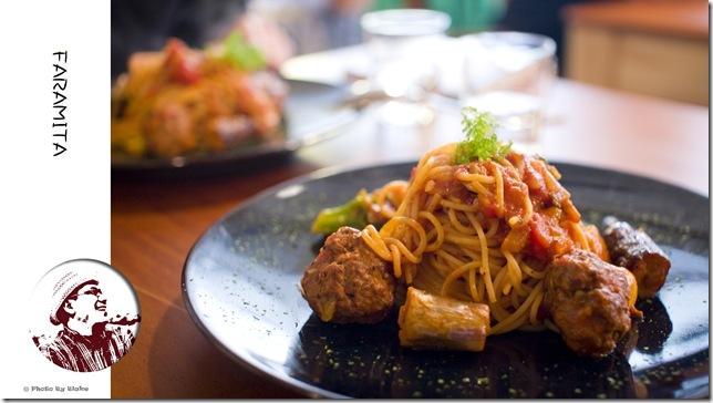 法蘭斯肉丸茄子杜蘭朵手工麵