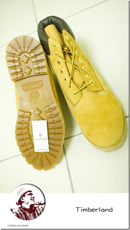 Timberland黃靴
