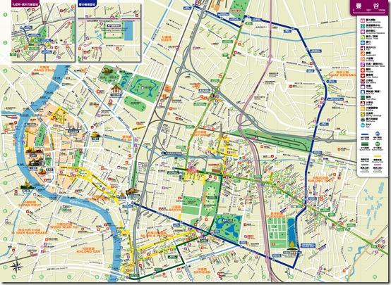 Bangkok曼谷地圖
